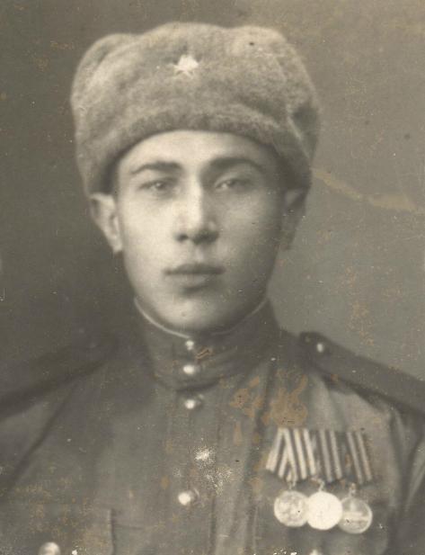 Ёрин Семен Терентьевич. Фото из архива Злаиной Е.