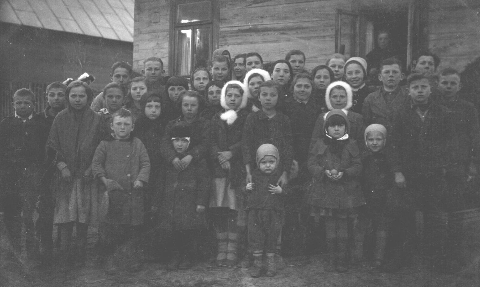 Дети войны. Фото из архива Маслова А.