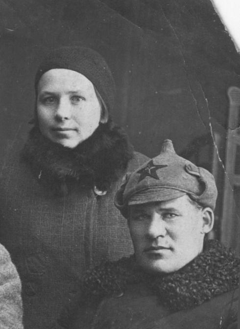 Дуров Н.А. и Дурова А.С. 1935. Из архива Крышова С.И.