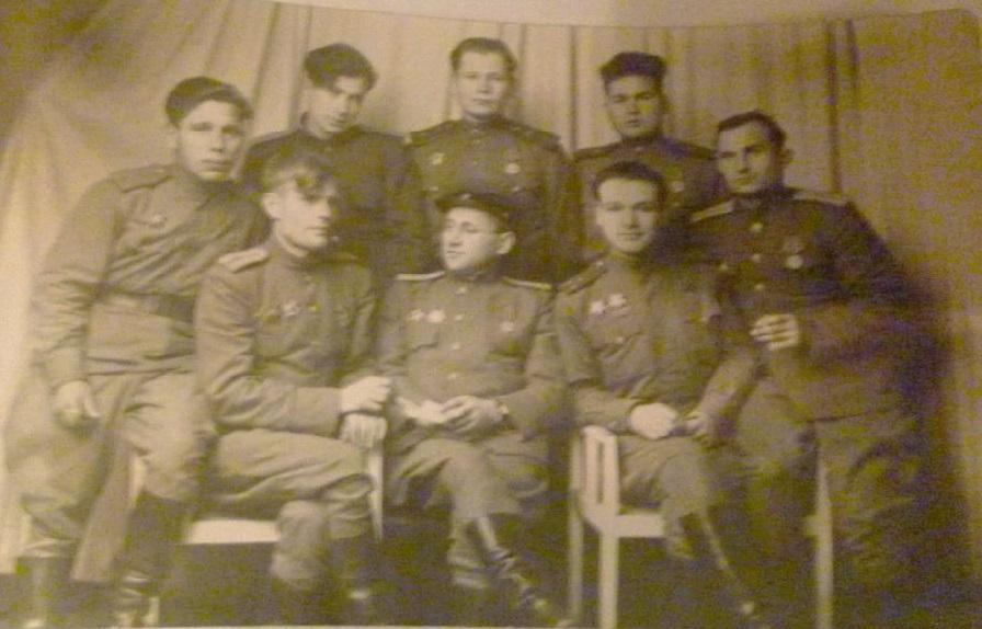 Фронтовое братство. Фото Жуковой Я.