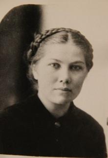 Щетинина Лариса Матвеевна. Погибла за 5 дней до Победы. Фото из архива Кисляевой Д.