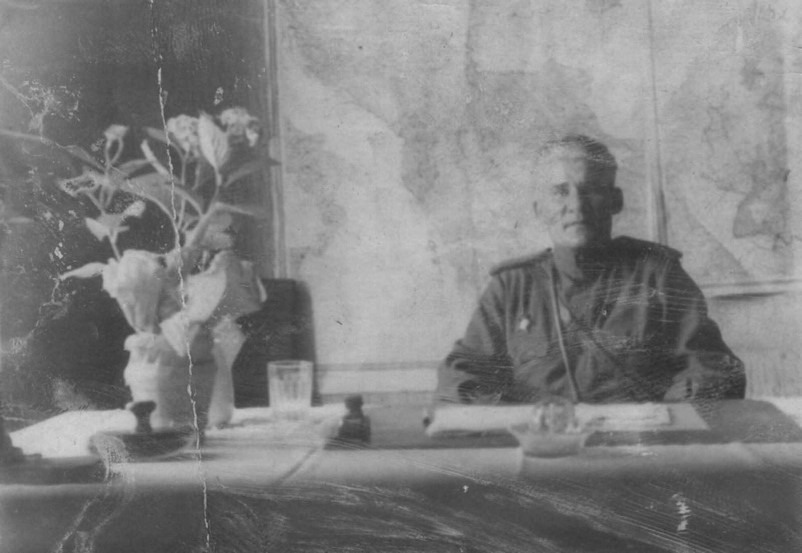 Дуров Н.А. Военный комендант г. Грац. 1945. Фото Маслова А.