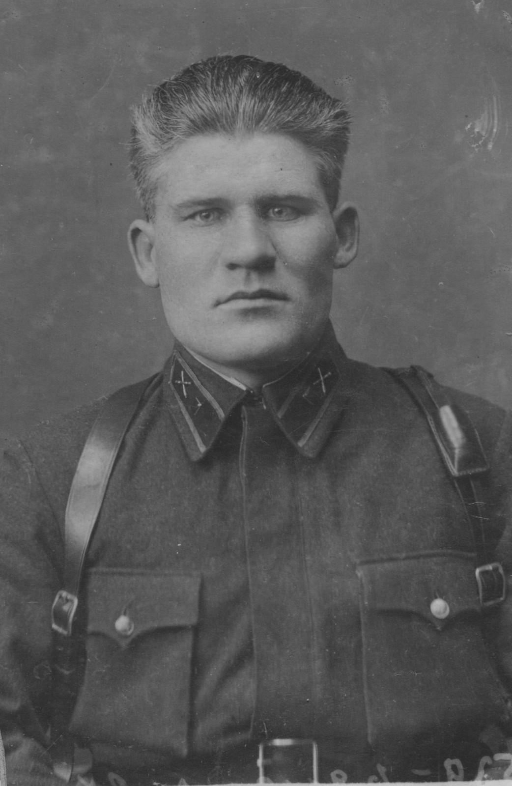Дуров Н.А. 1939. Фото из архива Крышова С.И.