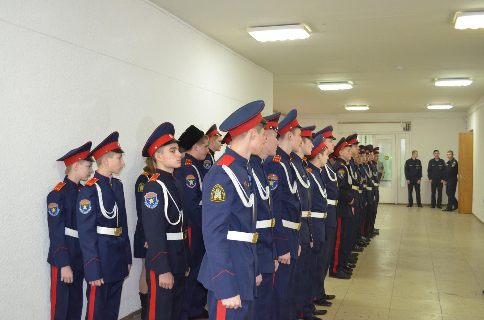 Будущие студенты Первого казачьего университета