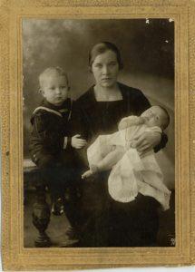 Нина Николаевна Морозова. 1931