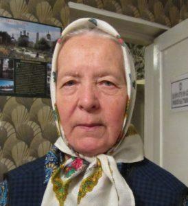 Быкова Валентина Федоровна - сестра ветерана.