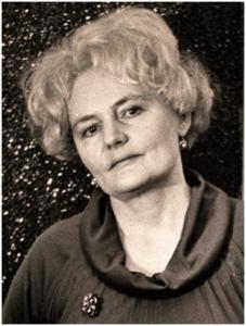 Ксения Александровна Грушевая. 1978 год