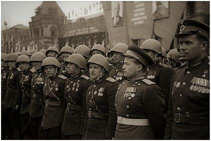 Парад Победы. Июнь 1945