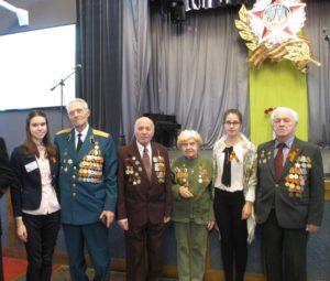 Встреча музейного актива с ветеранами