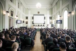Актовый зал Санкт- Петербургской Духовной Академии