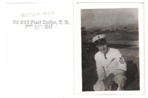 Открытка из Перл-Харбора. 1947 год