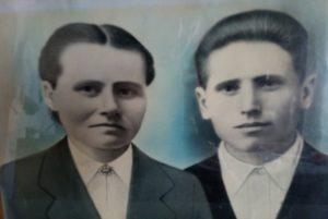 Супргуги Василий и Прасковья Вилковы