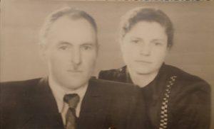 Супруги Тихонко после войны