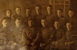 Группа военных фельдшеров