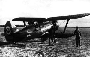 Лейтенант Кузьмин воевал в небе над Хасаном на истребителе И-15